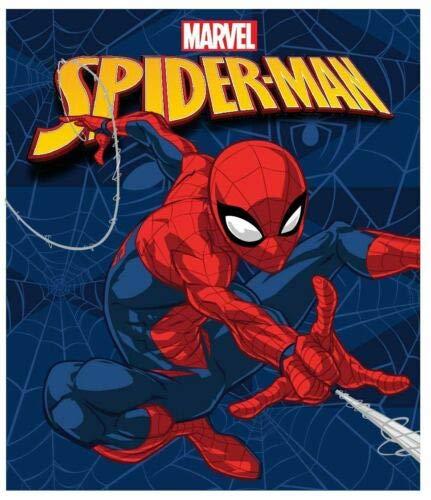 Couverture Polaire Enfant, Plaid Couvre-Lit Spiderman 120x140 cm
