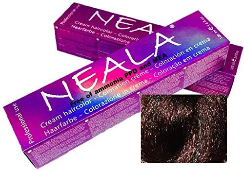 Tintes Profesionales SIN AMONIACO y libre de PPD- 5.75- Castaño Claro Chocolate - NEALA 100ml.
