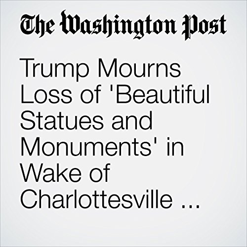 Trump Mourns Loss of 'Beautiful Statues and Monuments' in Wake of Charlottesville Rally Over Robert E. Lee Statue copertina