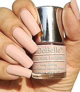 DeBelle Gel Nail Polish Peony Blossom 8ml- (Nude nail polish)