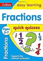 Fractions Quick Quizzes: Ages 5-7 (Collins Easy Learning Ks1)