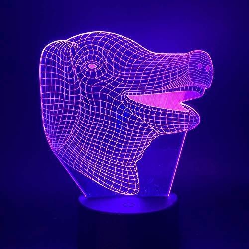 3D Lamp Pig Lovely Animal Night Light for Children Bedroom Lamp for Kids Birthday Gift Nightlights Decorative Led Night Light