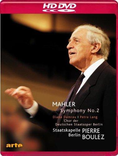 MAHLER: Sinfonie Nr. 2 *Auferstehung* (Staatskapelle Berlin, Boulez) [HD-DVD]