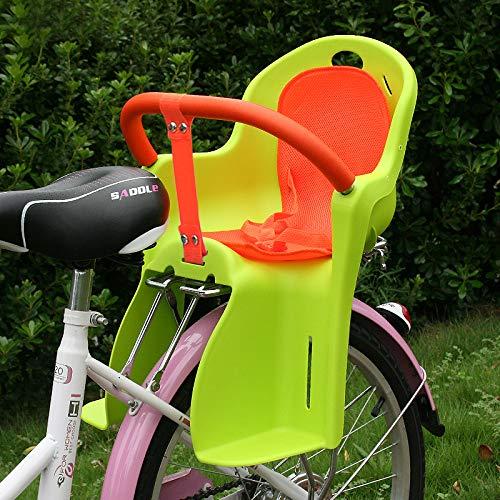 JHKGY fietsgemonteerde kinderwagen/fietsstoel, 3-punts harnas, afneembare armsteun, gemakkelijk op het achterwiel van de fiets, voor kinderen, peuters en kinderen