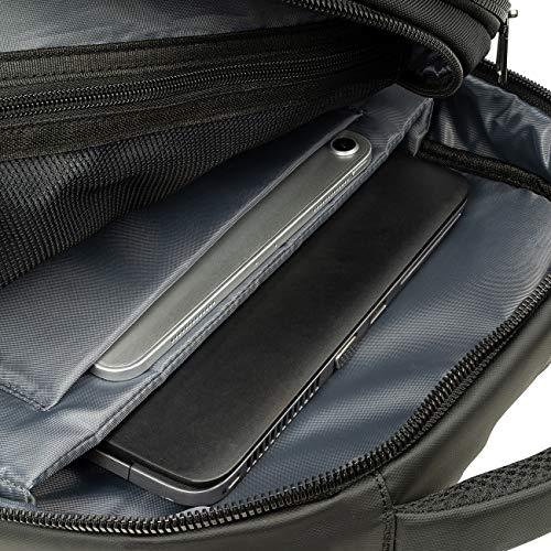 Tucano Martem Computerrucksack, kompatibel mit MacBook PRO 16 '' 15,6 Zoll Laptop, geräumiges, zeitgemäßes Design, Mann und Frau