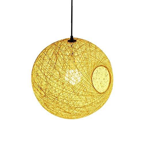 Chandelier, Modern Minimalistisch Minimalistisch Ball Hennep touw licht, for Eetkamer Badkamer Slaapkamer Woonkamer decoratieve kroonluchter