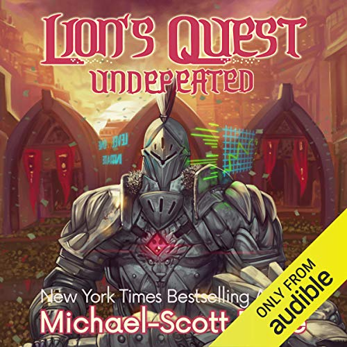 Lion's Quest: Undefeated audiobook cover art