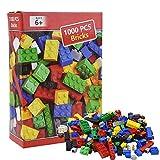XDXDO Bloque de construcción Set-1000 Piezas de Grandes Bloques de Edificios clásicos de Juguetes educativos preescolares, compatibles con Todas Las Principales Marcas de Ladrillos a Granel