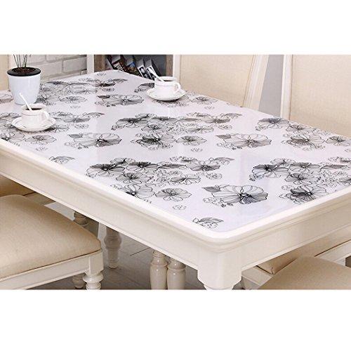 outgeek Mantel De Plástico Mantel Rectangular Rectangular Table Protector De Mesa Impermeable para La Cocina