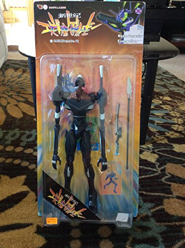 Neon Genesis Evangelion: EVA-03 Black Action Figure in 'Launch Tube' Package by Kaiyoo / Art Asylum