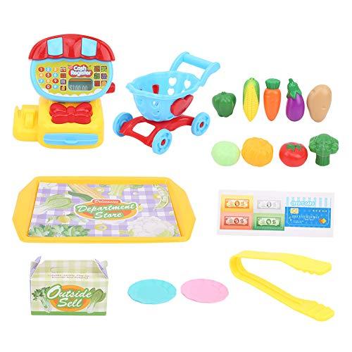 YOUTHINK Juego de Verduras de Cocina de simulación, interacción de Juguete, Juguetes educativos para niños, Juguetes de Juego de Cocina para niños(UN)