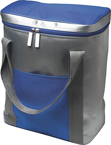 notrash2003 1 Grande Poche Isotherme-capacité : pour 6 x 1,5 l, Bouteilles, avec Fermeture éclair Cordon de Serrage 36,0 x 28,5 x 16,5 cm (Bleu)