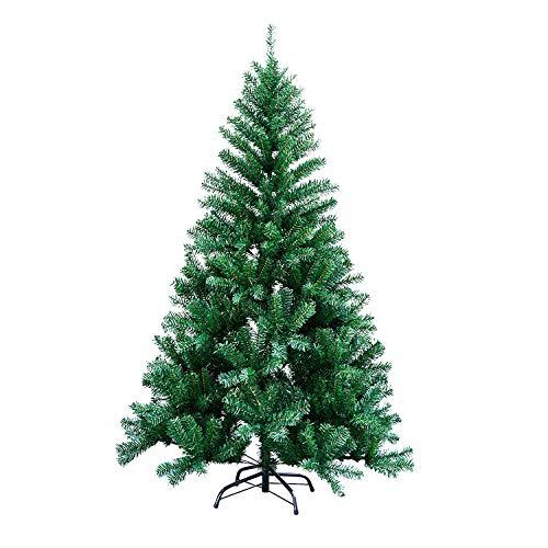vingo Árbol de Navidad Artificial, 150cm Verde Pino Arbol para Decoración Navideña Nevado de Picea, Aguja de Pino, con Soporte