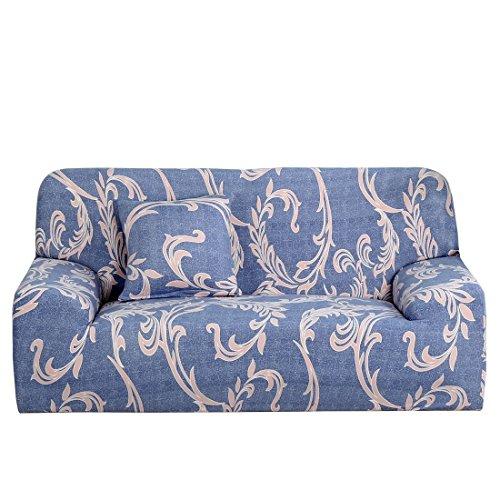 YeVhear - Copridivano per sedia estensibile, 1 2, per divano a 3 posti, misura media