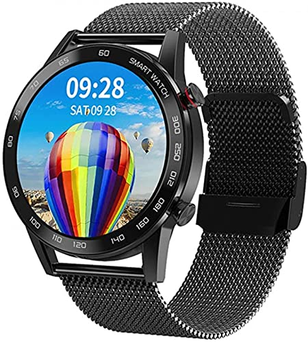 L.B.S 2020 New Bluetooth Call Smart Watch IP68 Waterproof Smart Watch Health Monitor for Android, iOS(F)
