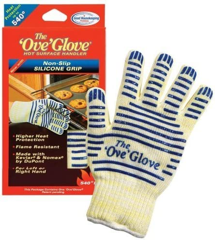2PCS Heat Proof Oven Mitt The Ove Glove 540 HOT Surface handler As Seen On TV product image