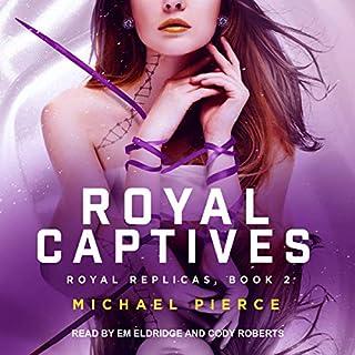 Royal Captives audiobook cover art