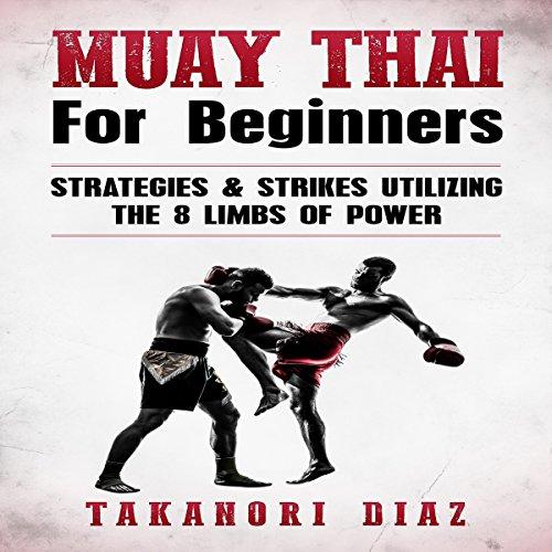 Muay Thai for Beginners audiobook cover art