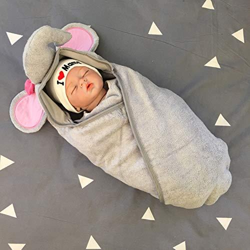 Maternal and child-G.TZ Asciugamano per Animali con Cappuccio in bambù di Alta qualità   Super Soft   Spesso, Fluffy, Assorbente   Baby & Toddler     Regalo Perfetto per Babyshower, 85x85cm