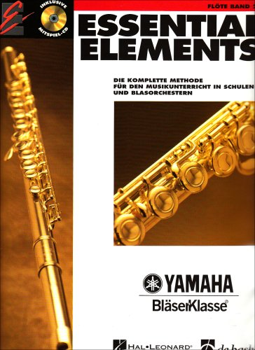Essential Elements, für Flöte Bd. 2, m. Audio-CD