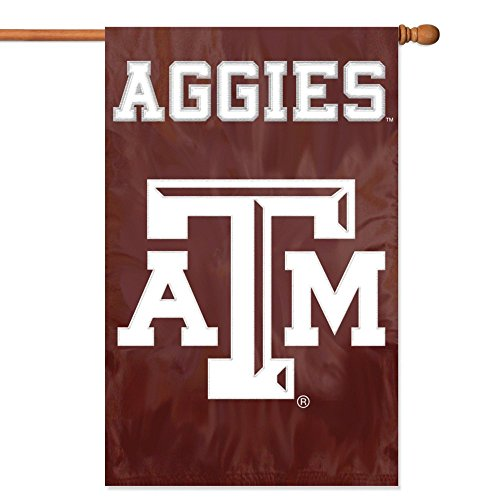 Party Animal Texas A & M Aggies Banner College Flag