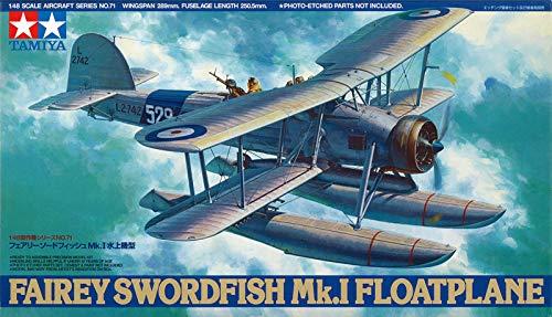 タミヤ 1/48 傑作機シリーズ No.71 フェアリーソードフィッシュ Mk.I 水上機型 61071