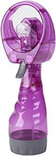 Livoty New Portable Hand Held Cooling Cool Water Spray Misting Fan Mist Travel Beach Purple