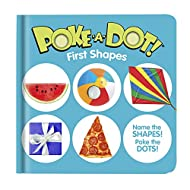 Melissa & Doug Children's Book – Poke-a-Dot: First Shapes (Board Book with Buttons to Pop)