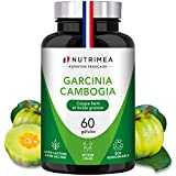 GARCINIA CAMBOGIA Pure - Coupe faim et brûleur de graisse naturel - 60% d'AHC - 60 gélules de 500 mg VEGAN - Complément Minceur idéal pour régime - Fabrication Française