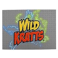 パズル 1000ピース 人気 アニメパズル 大型木製 パズルおもちゃギフト創造的な減圧diyチャレンジアート画像wild Kratts (1)