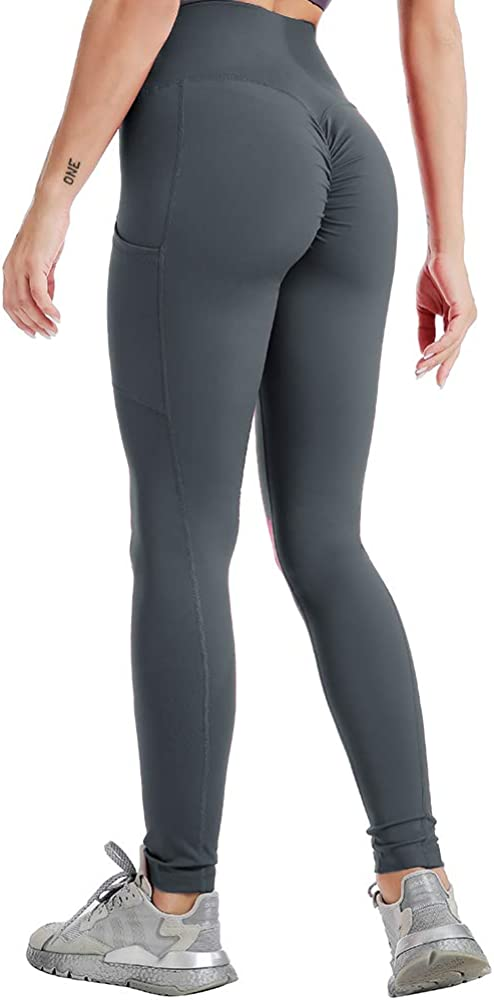 N\C 2021new shipping free Ranking TOP16 Women's Butt Lifting Leggings Ruched with Pants Scrunch Yoga