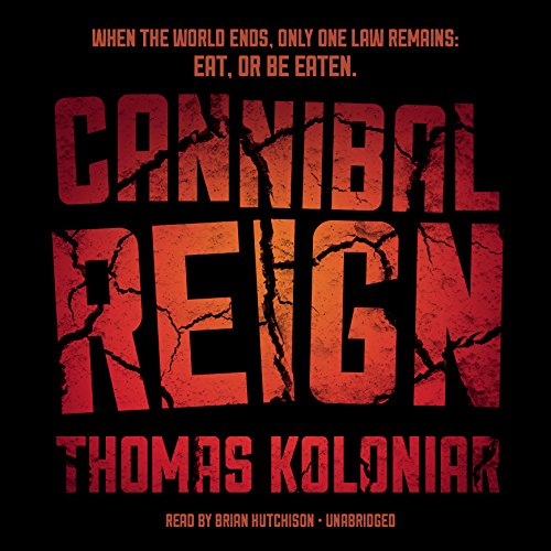 Cannibal Reign audiobook cover art
