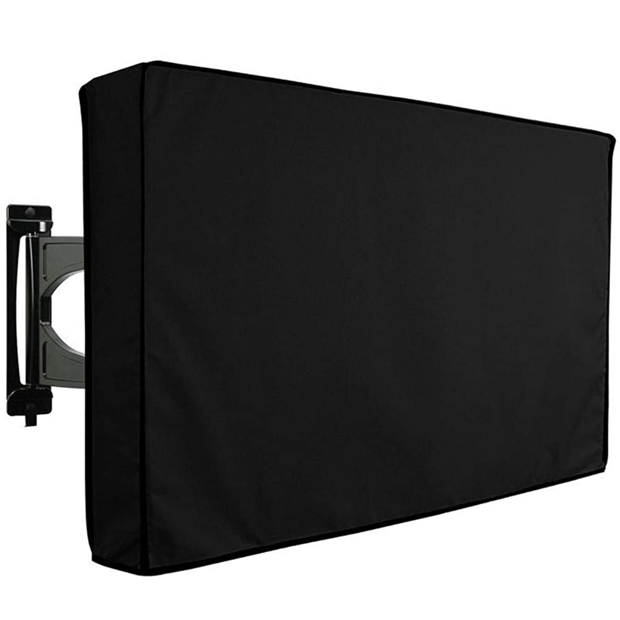 TV Cover Outdoor Garden TV Cover Dust Proof Oxford Fabric LED LCD Television Protective Case (55-58 inch TV)