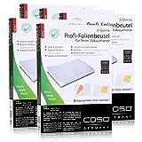 Caso Profi- Folienbeutel 16x23cm / 50 Beutel für Vakuumierer Caso (5er Pack)