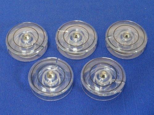 5 Bobines en plastique pour machines à coudre SINGER CONCERTO SYMPHONIE et +