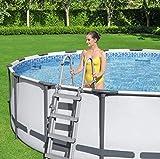 "Bestway 15' x 48"" Steel Pro Max Above Ground Pool Set"