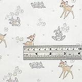 Crafty Baumwoll-Lizenzstoff CCL001 – Bambi – Verkauft