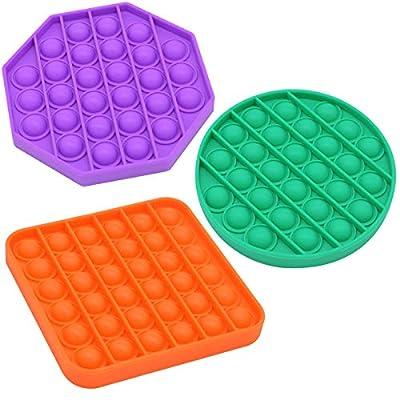 Amazon - Save 50%: 3Pack Fidget Toy, Bubble Sensory Dimple Toys Autism ADHD Special Nee…