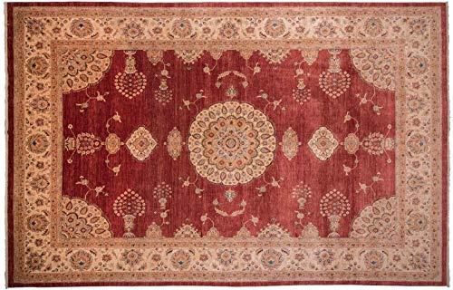Teppichprinz Feiner Chobi-Ziegler Farahan 413x301cm Orientteppich Handgeknüpft Afghanistan Carpet Rug
