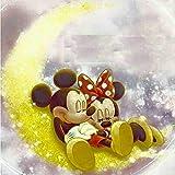 (11.8x15.8inch) Peinture 3D diamant bricolage mosaïque 5D'Mickey Minnie' broderie...