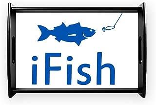 Small Serving Tray iFish Fishing Fisherman