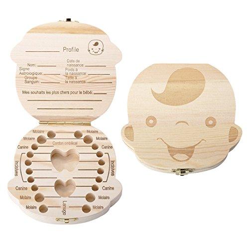 Mogoko Boîte à Dents de Lait avec Pince -...