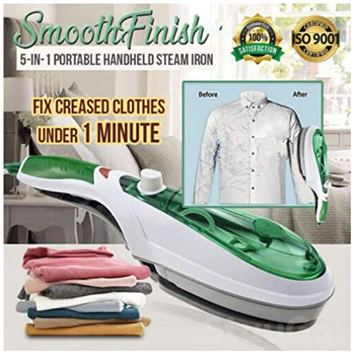 ZOOARTS SmoothFinish 5-in-1 Portable Handheld Steam Iron - HOT