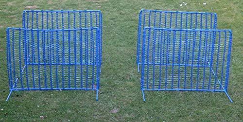 "Callieway 4X Hoopers Zaun ""Blue Gate""/Gatter - NADAC Hoopers Agility Gerät – Hoopers Agility Gate"