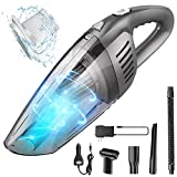 Portable Cordless Handheld Vacuum Cleaner, 8000PA Strong Suction, 120W High Power, Wet & Dry Use, Quick Cleaning for Car, House & Office