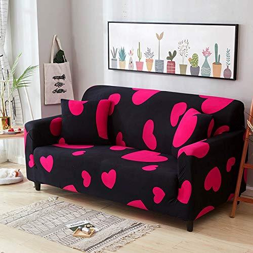 WXQY 24 Colores para Elegir Funda de sofá Asiento elástico Fundas de sofá loveseat sillón Fundas Fundas sofá Toalla 1/2/3/4 plazas A12 3 plazas