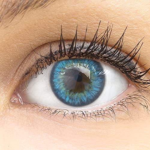 glamlens -  Blaue Farbige