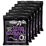 6 Sets of Ernie Ball Cobalt 2720 Power Slinky .011-.048 Guitar Strings