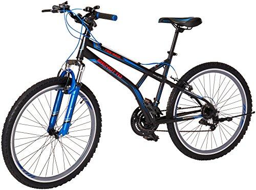 Benotto Fireback FS MTB Bicicleta de Acero, 21 Velocidades, Multicolor, Extra Large