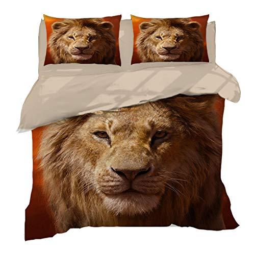 Tagesdecken Bett 180X200, Der König der Löwen...